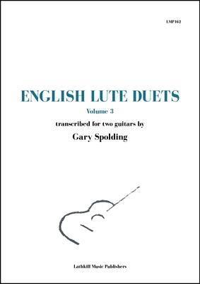 cover of English Lute Duets volume 3