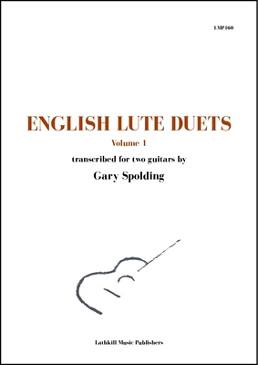 cover of English Lute Duets volume 1