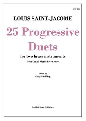 cover of 25 Progressive Duets by Saint-Jacome trans. Gary Spolding