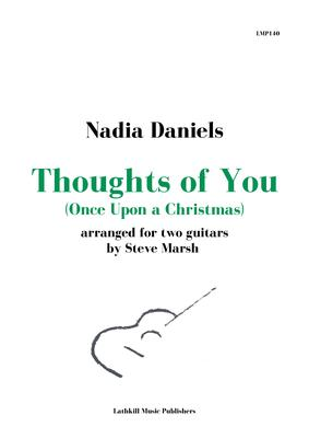 cover of Thoughts of You by Nadia Daniels