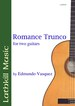 Romance Trunco by Edmundo Vasquez