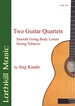Two Guitar Quartets by Juumlrg Kindle